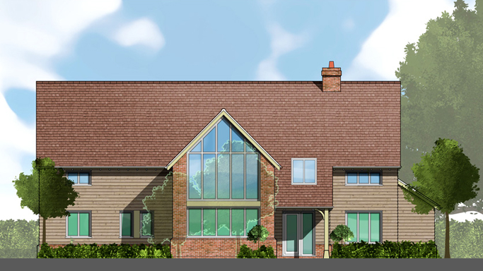 Proposed New Dwelling in Cuxham Oxfordshire